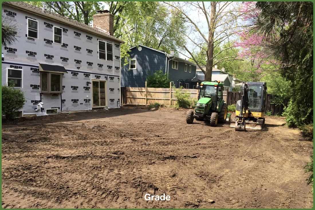 Demolition, Grading and Restoration