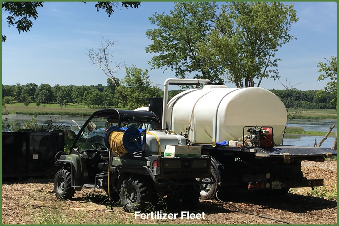 Herbicide Application Truck Fleet